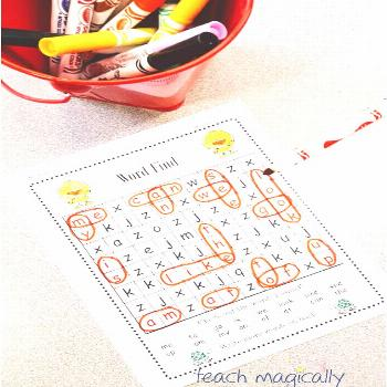 Sight Word Word Find Bundle A BUNDLE of fun to work on sight words. Search and find 75 sight words