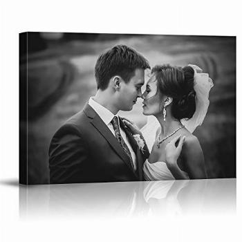 SIGNFORD Custom Canvas Prints with Your Wedding Photos,