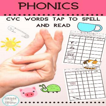 Tapping and sounding out is a great decoding strategy for emergent readers and spellers. It is simp