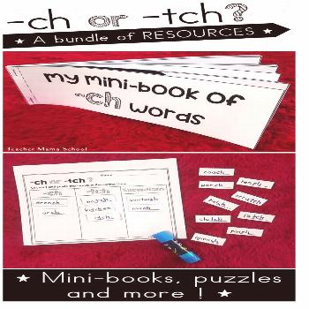 tch ch Spelling Help your students to know when to use the ending spellings -tch and -ch with this