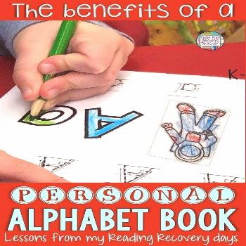 The benefits of a personal alphabet book The benefits of a personal alphabet book - lessons learned