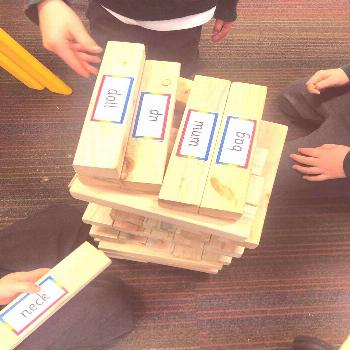 """The Early Years Teacher on Instagram: """"Phonics giant jenga ????""""You can find Early years educat"""