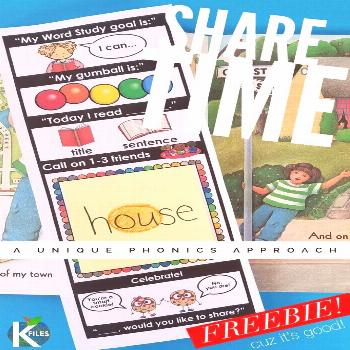 The Read to Self THINKmark: A FREEBIE for you! - The K Files The Share Time Thinkmark is a great wa