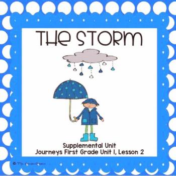 The Storm- First Grade Supplemental Unit This resource is a supplemental unit for