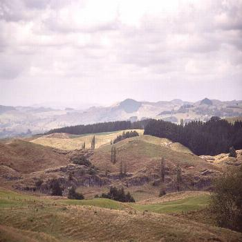 Theres an abundance of enchanted caves under these green rolling hills. -
