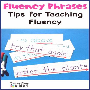 Tips for Fluency phrases and fluency passages for reading practice, guided reading small groups, re