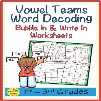 Vowel Teams Word Decoding & Assessments Are you looking for some vowel team word decoding worksheet