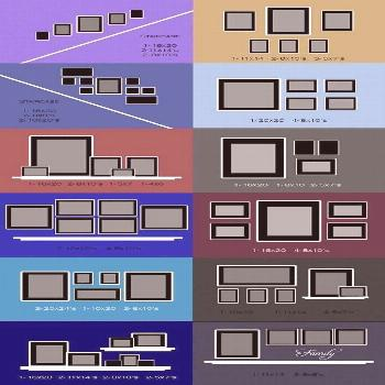 Wand-Fotocollage   Wand-Collage-Layout-Ideen … – Foto Wand Wand-Fotocollage   Wand-Collage-Layo