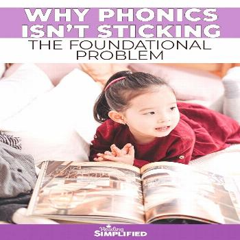 Why Phonics Isn't Sticking (And What to Do About It!) - Reading Simplified There's nothing more f