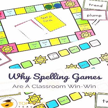 Why Spelling Games Are A Classroom Win-Win The most obvious reason to use spelling games in your cl