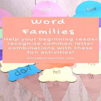 Word Family Activities Help your beginning reader get familiar with common letter combinations by l