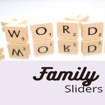 Word Family Sliders Practice with this