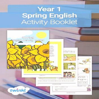 Year 1 Spring English Activity Booklet This fantastic seasonal activity booklet is packed full of f