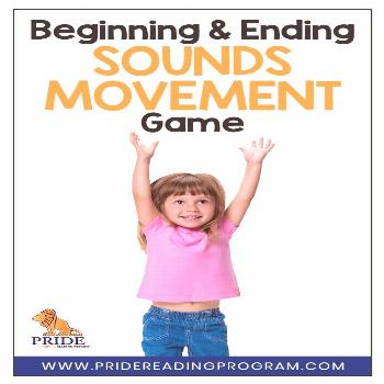 Your kids will love this fun, FREE, and NO PREP beginning and ending sounds movement game. It is a
