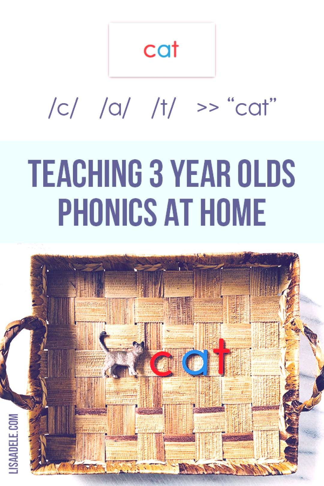 4 Steps to Teach Alphabet Phonics at Home - Preschool 3 Year Olds Suddenly homeschooling your presc