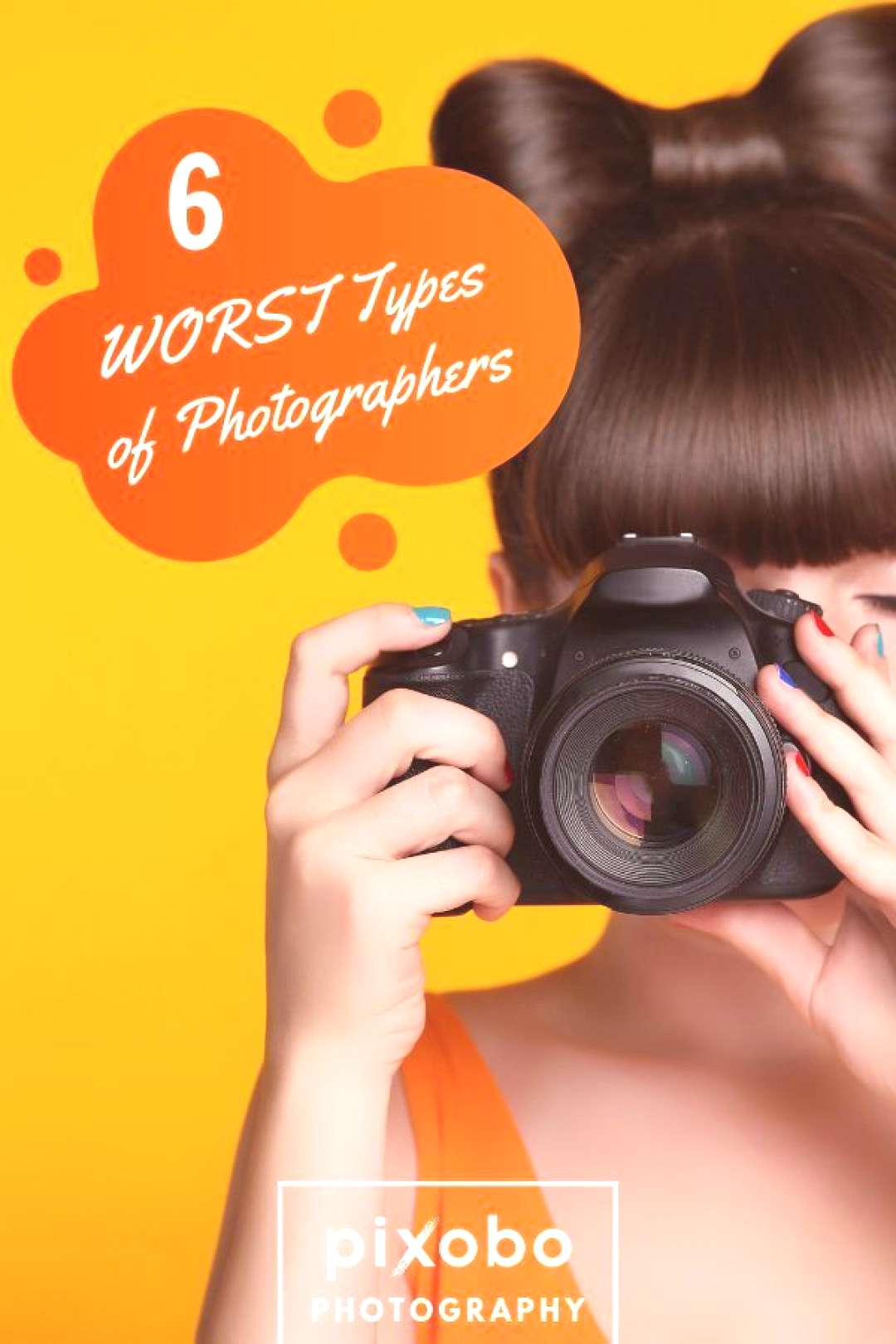 6 WORST Types of Photographers Not all photographers are bad but there are certainly some types tha