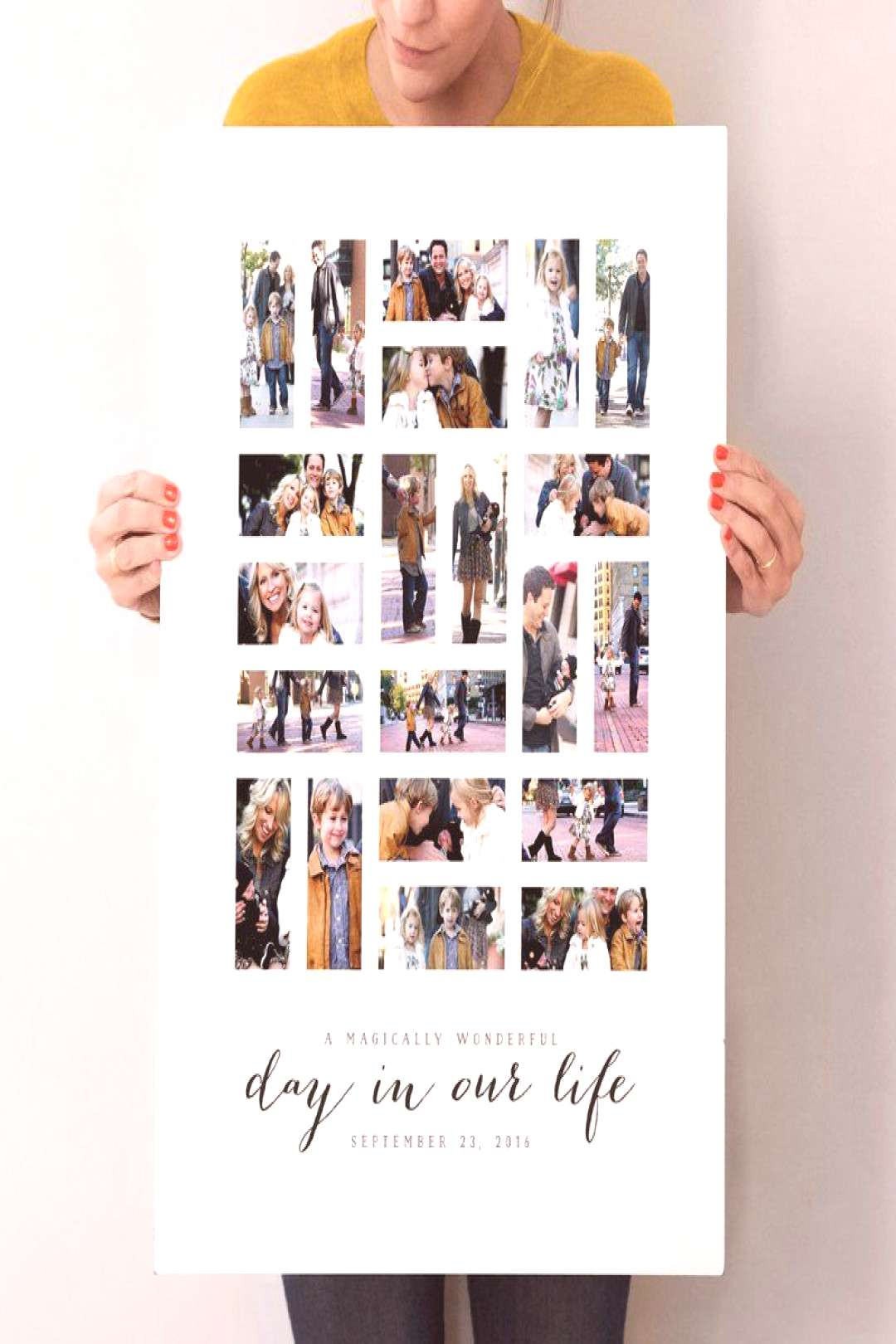 quotA Day in Our Lifequot - Custom Photo Art Print by Michelle Taylor in beautiful frame options and a va