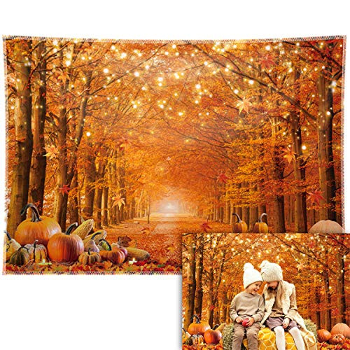 Allenjoy 7x5ft Durable/Soft Fabric Fall Photography Backdrop