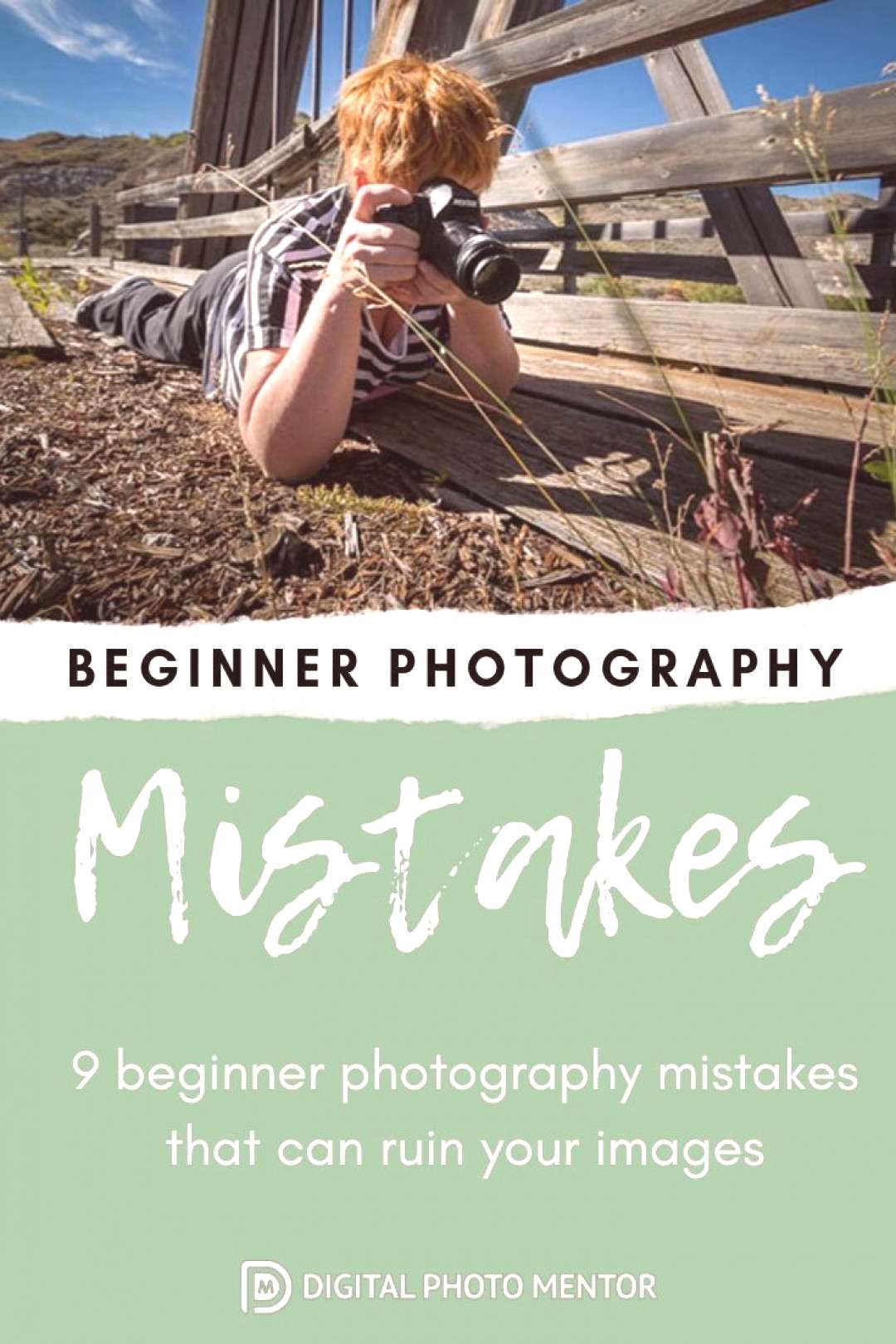 Beginner photography tips for helping the new photographer eliminate common mistakes.Learn to take