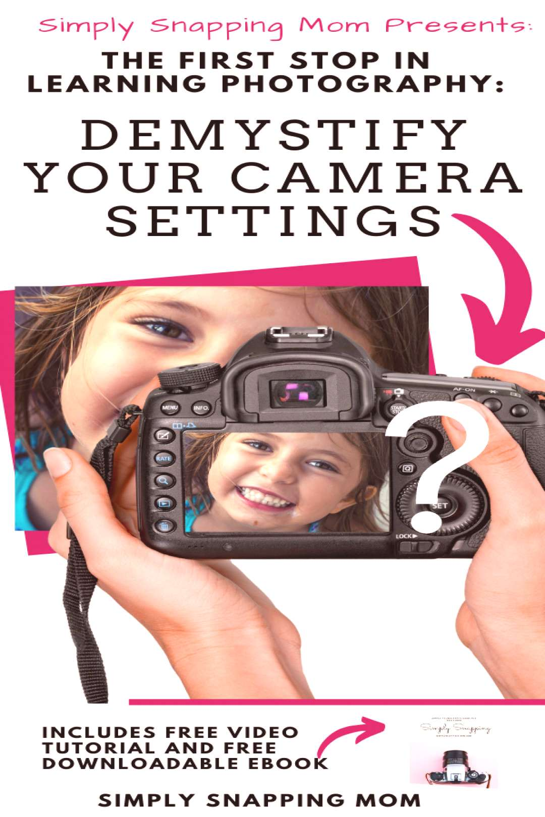 Camera Settings and Photography Basics for DSLR camera Beginners The first stop you have to make in
