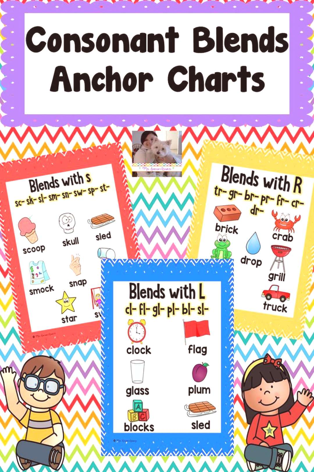 Consonant Blends Anchor Charts Here are consonant blends anchor charts that will help your students