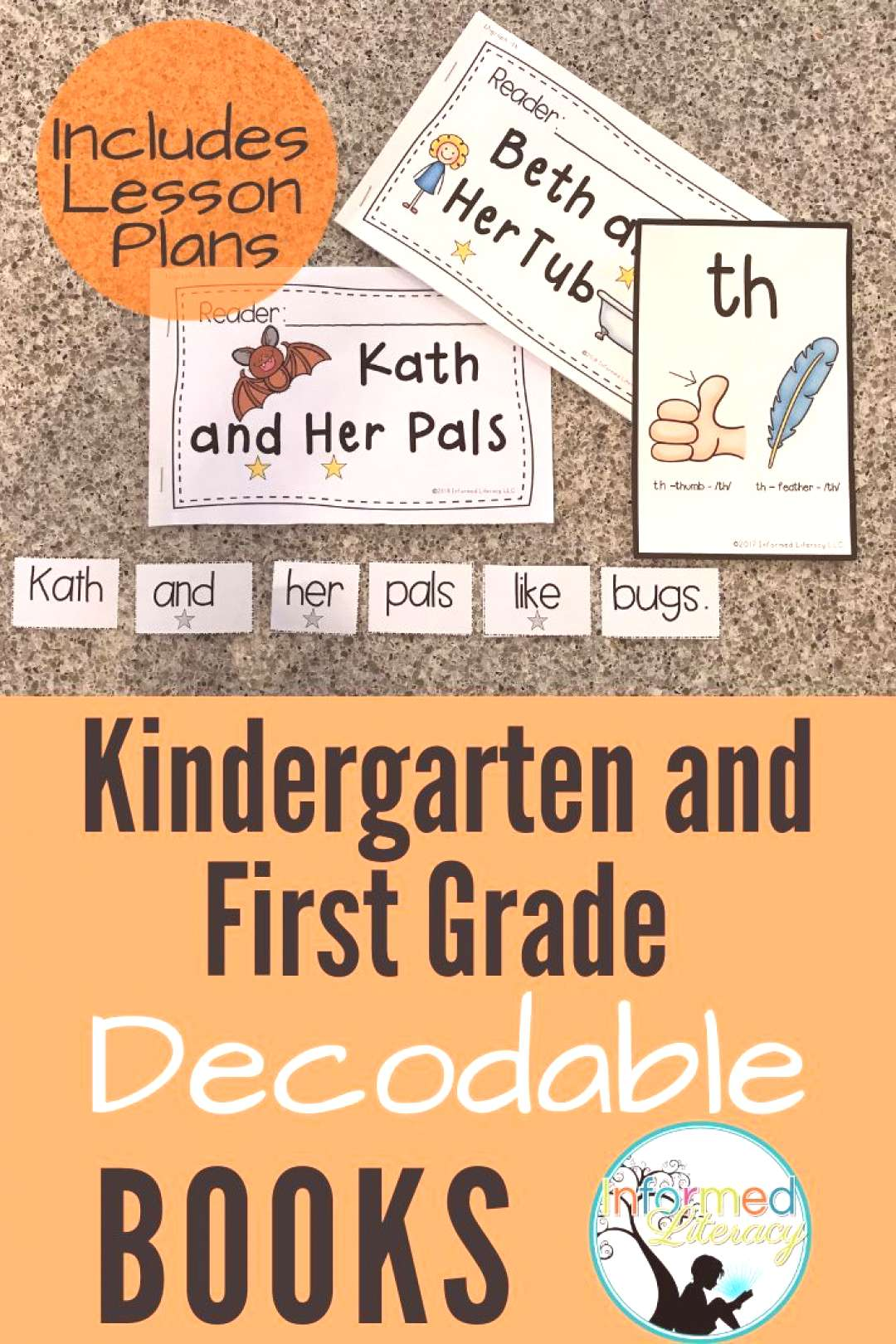 Decodable Reader Pack Digraphs - th Students in Kindergarten, First Grade and Intervention will be