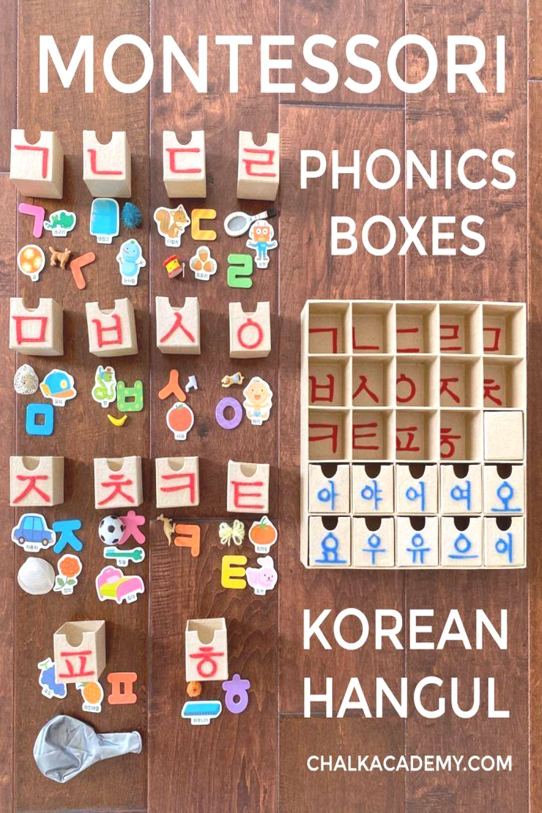 DIY Alphabet Phonics Boxes, Tactile Letters, and Teaching Tips (Korean) DIY Alphabet Phonics Boxes,