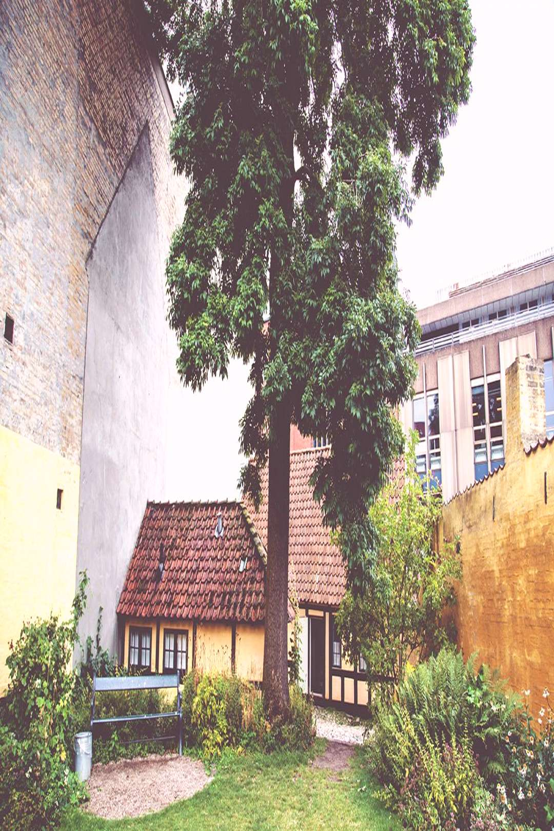 Exploring odense with my familythe place hans christian andersen lived inlooks lik... -