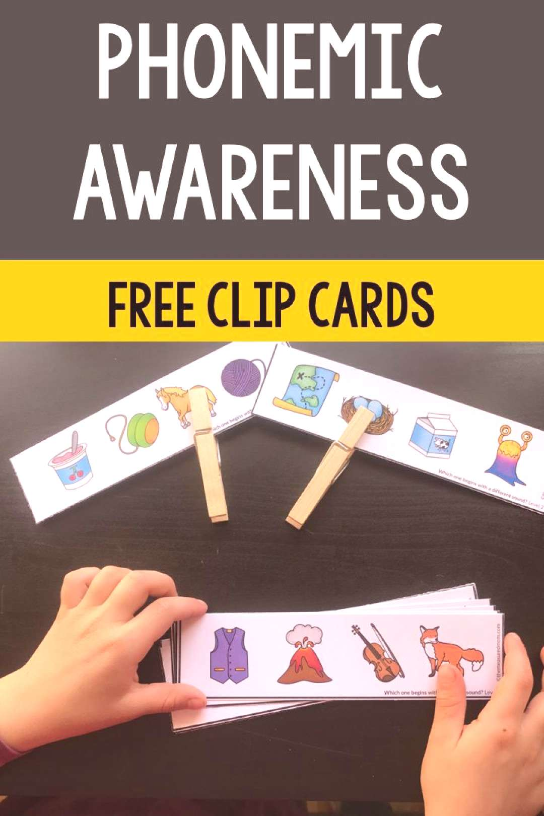 Free phonemic awareness activity - The Measured Mom Teach your students how to hear sounds in words
