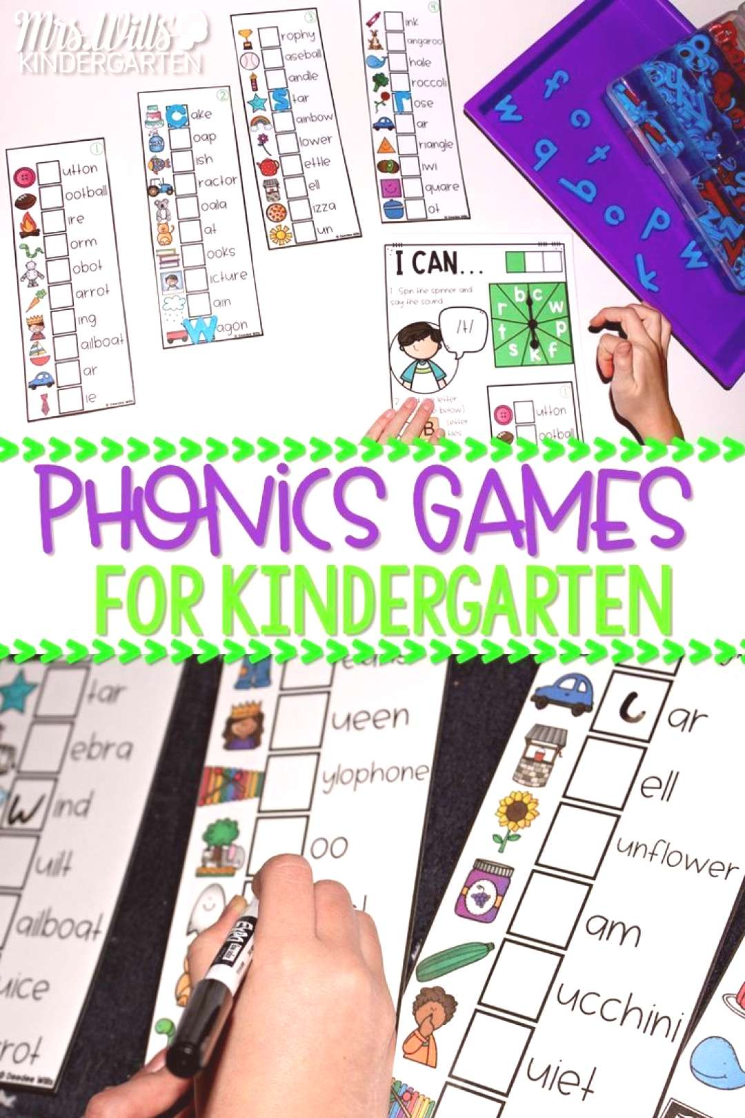 Fun Classroom Phonics Games to Support Kindergarten Literacy Fun Classroom Phonics Games to Support