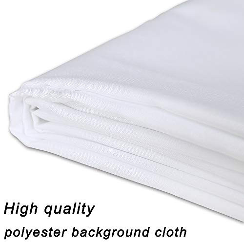 GFCC 8FTX10FT White Backdrop Background for Photography