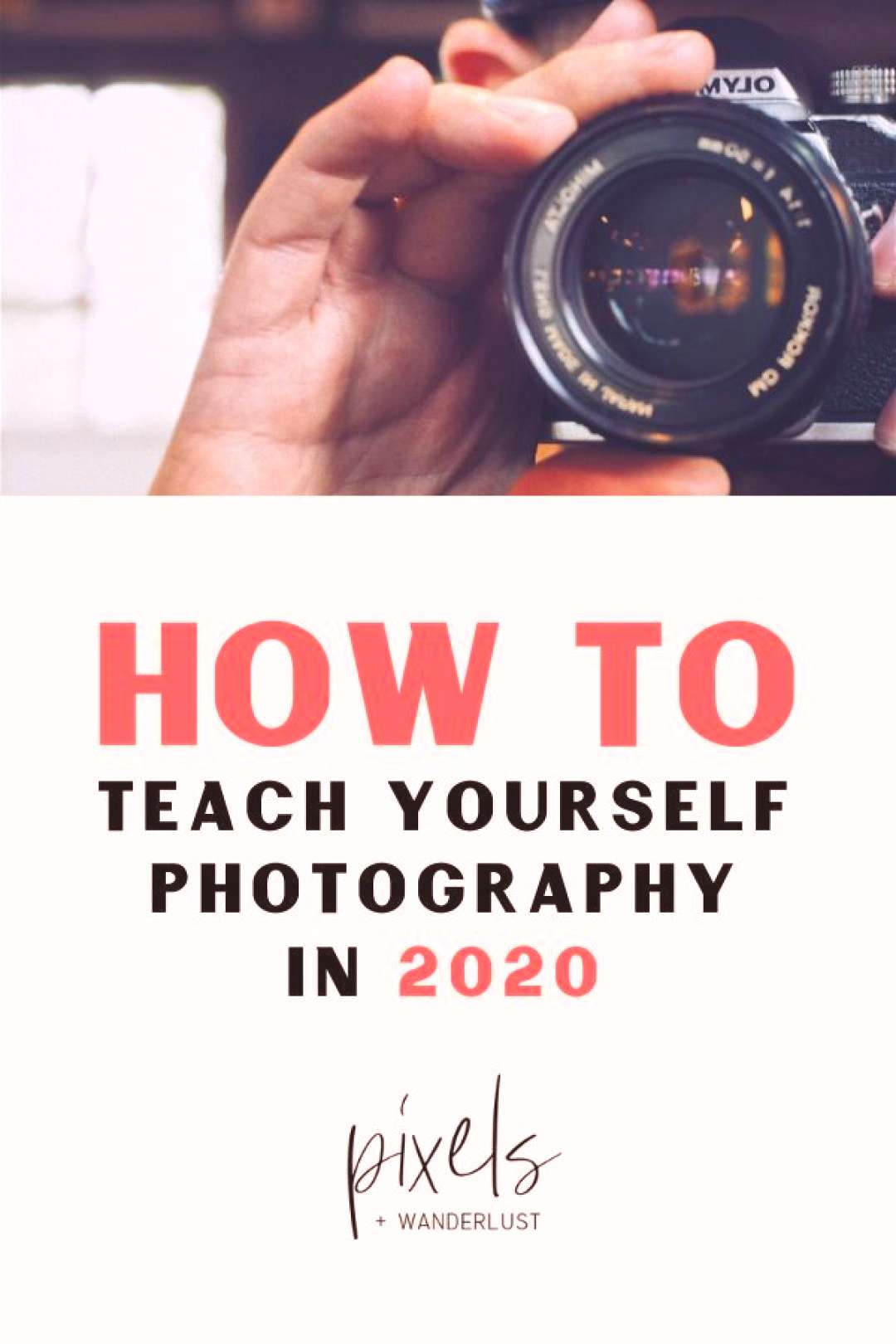 How To Teach Yourself Photography in 2020 Heres a step-by-step guide to help you go from being a d