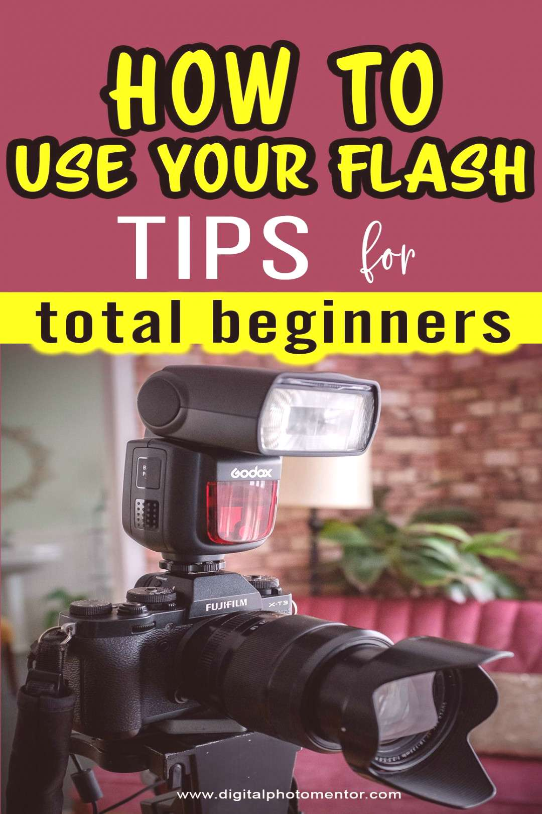 How to Use Your Flash – Tips for Total Beginners Learn how to use your flash. Flash photography