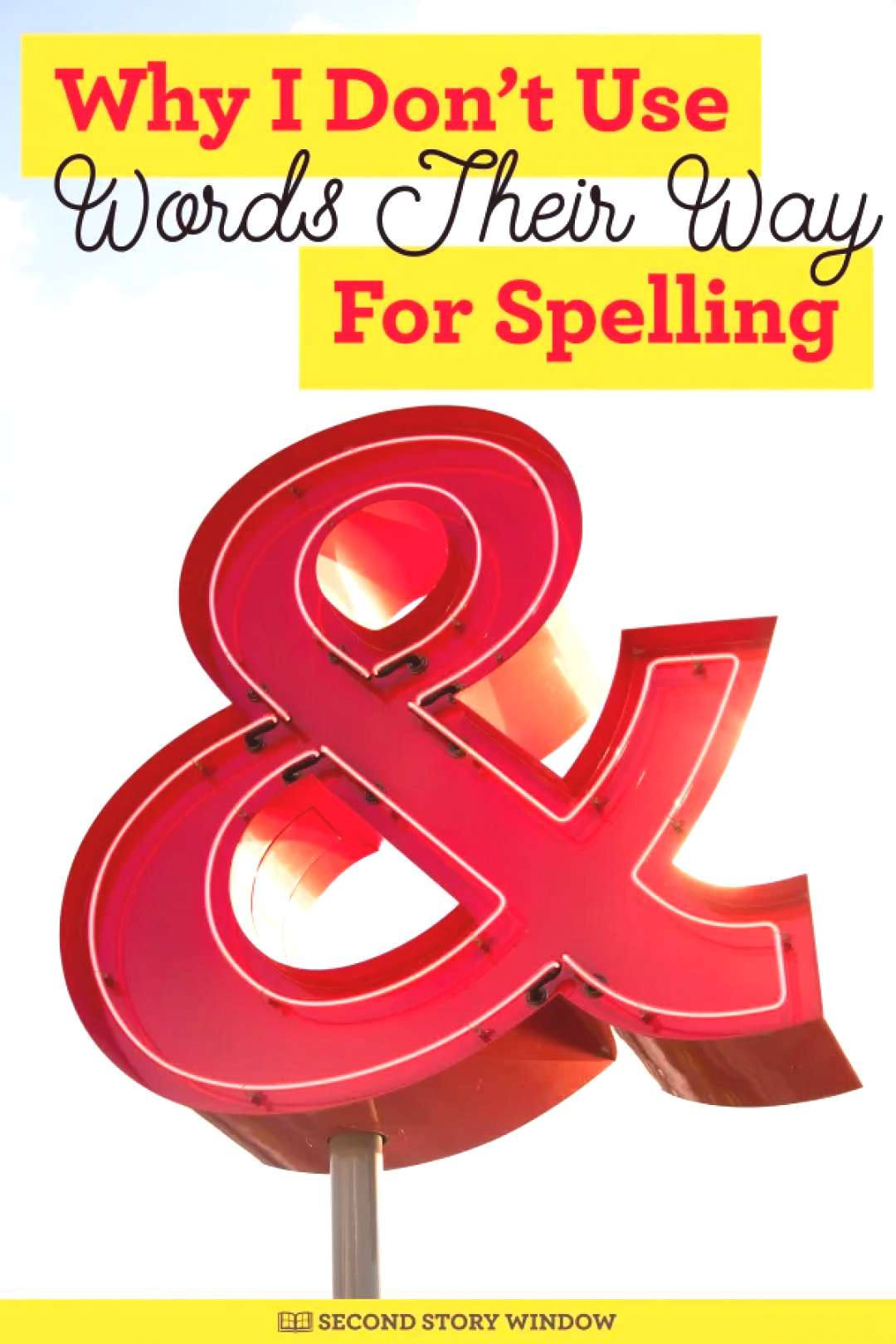 I love Words Their Way. Its a great word sorting and word study program! But I dont use it as my