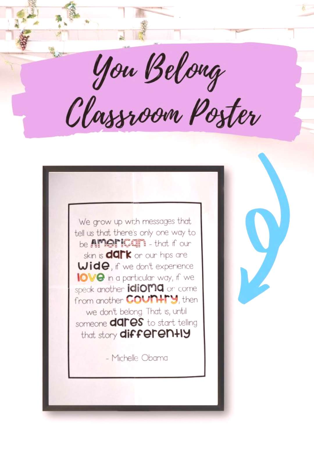 Includes classroom decor posterThese posters in the classroom show all students that they are WELCO