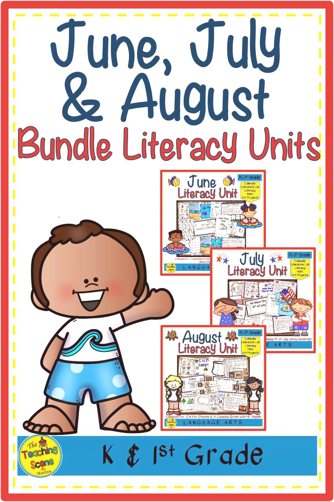 June, July amp August Literacy Units Bundle Are you looking for a literacy bundle for the months of J