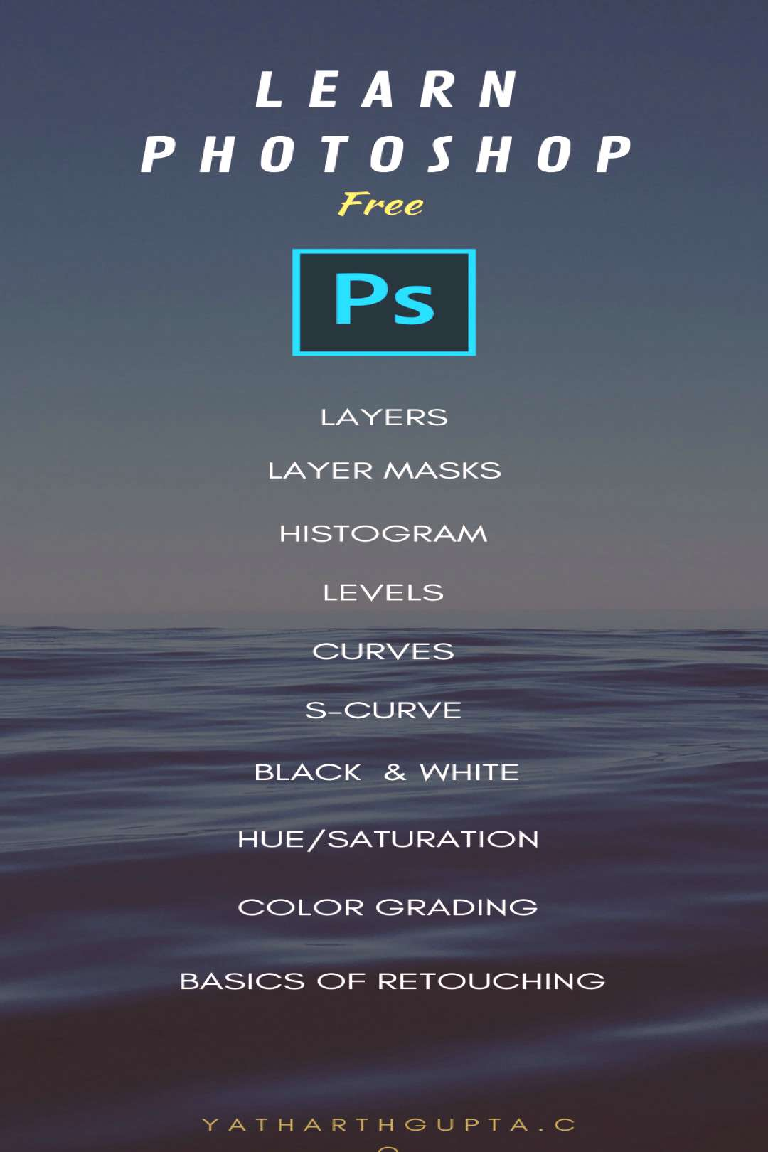 Learn Photoshop, All this and More