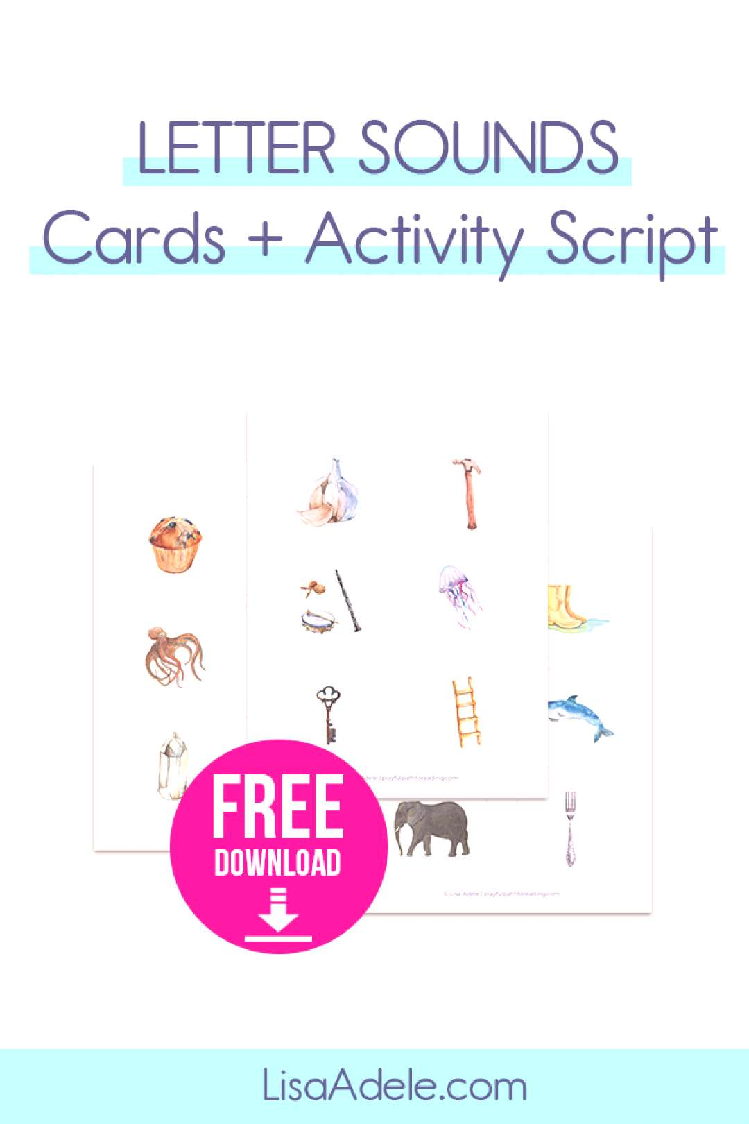 Letters Sounds Activities for 3 year Olds at Home Never struggle to teach letter sounds at home! Yo