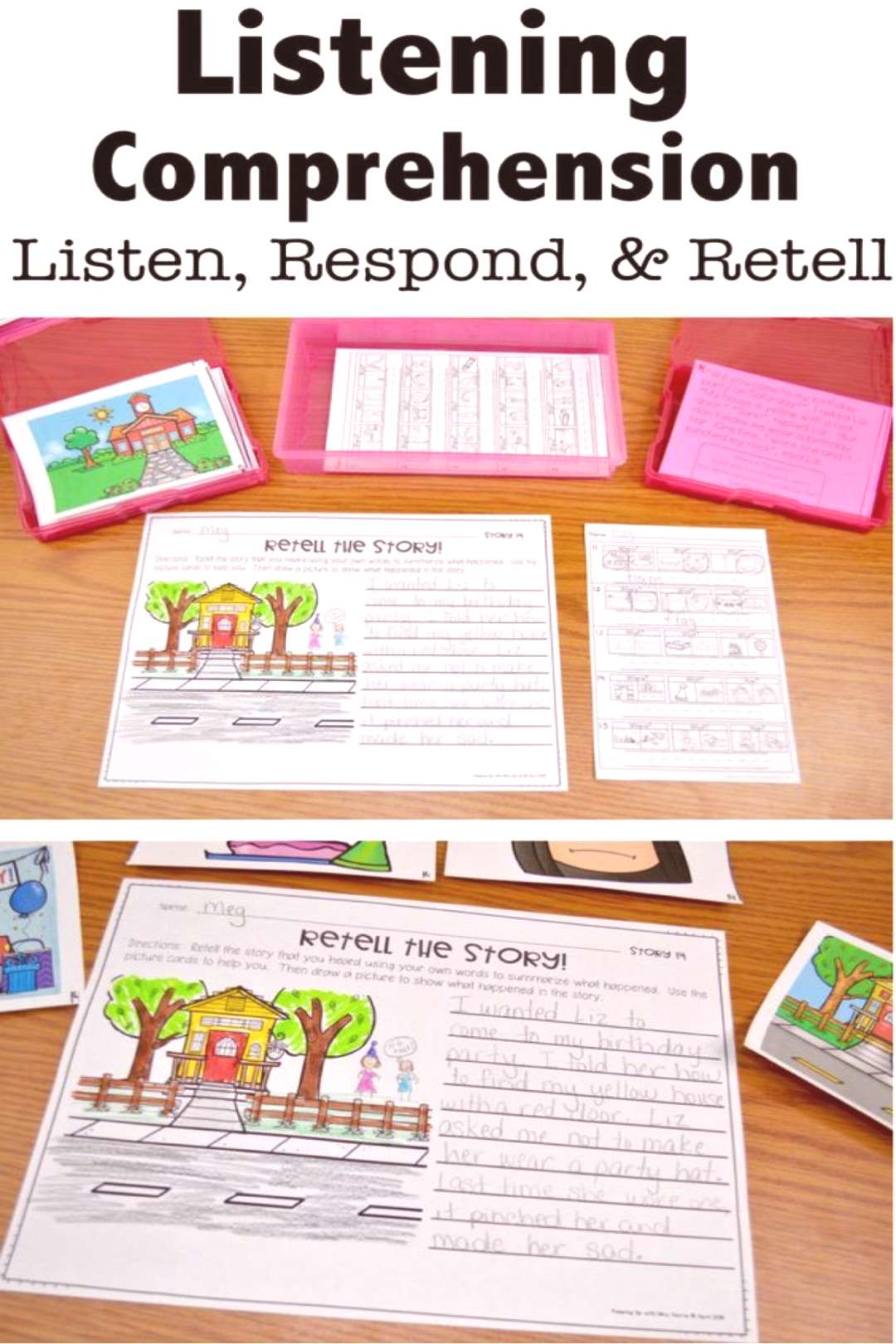 Listening Comprehension 5 Tips for Identifying Deficits - Keeping Up with Mrs. Harris Listening Co