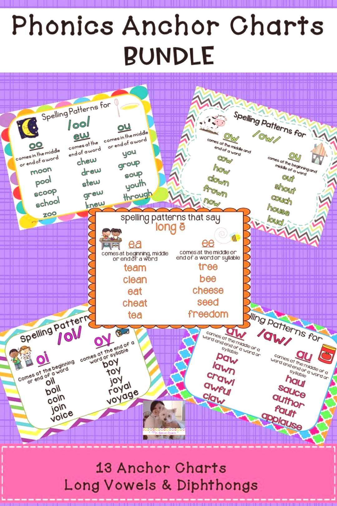 Phonics Anchor Charts Bundle Here are 13 helpful anchor charts that will help your students learn l