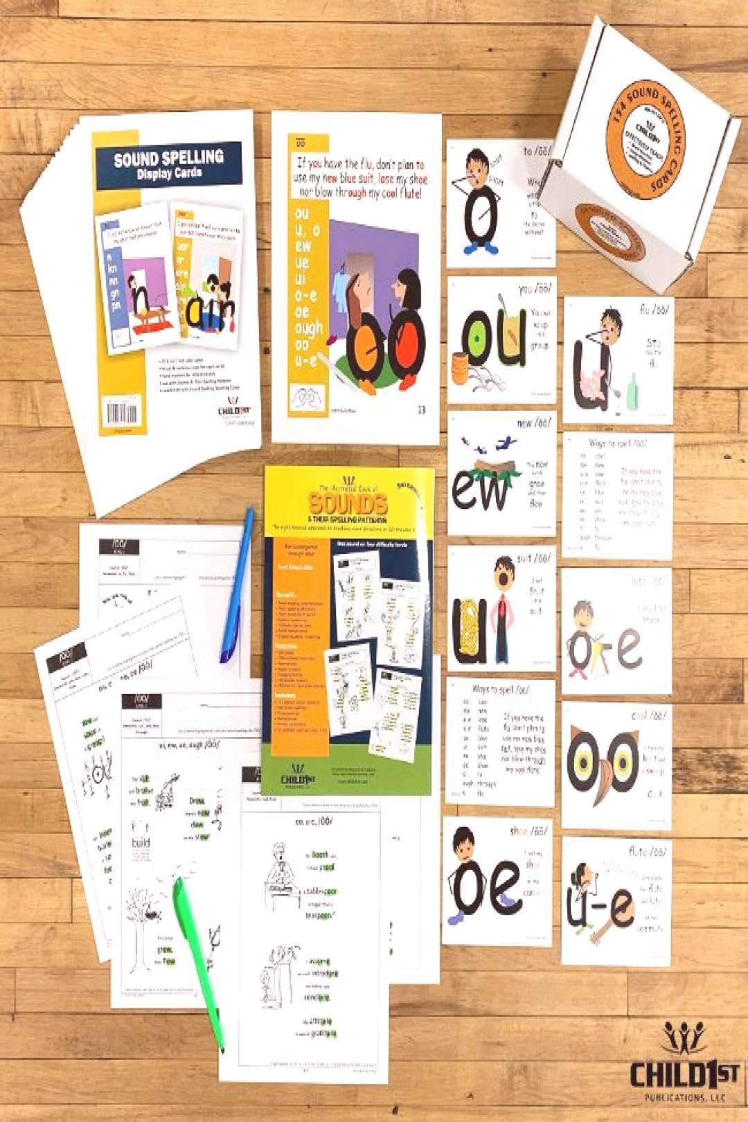 Phonics and Spelling ??Teach all of the sound spelling in the English language as well as