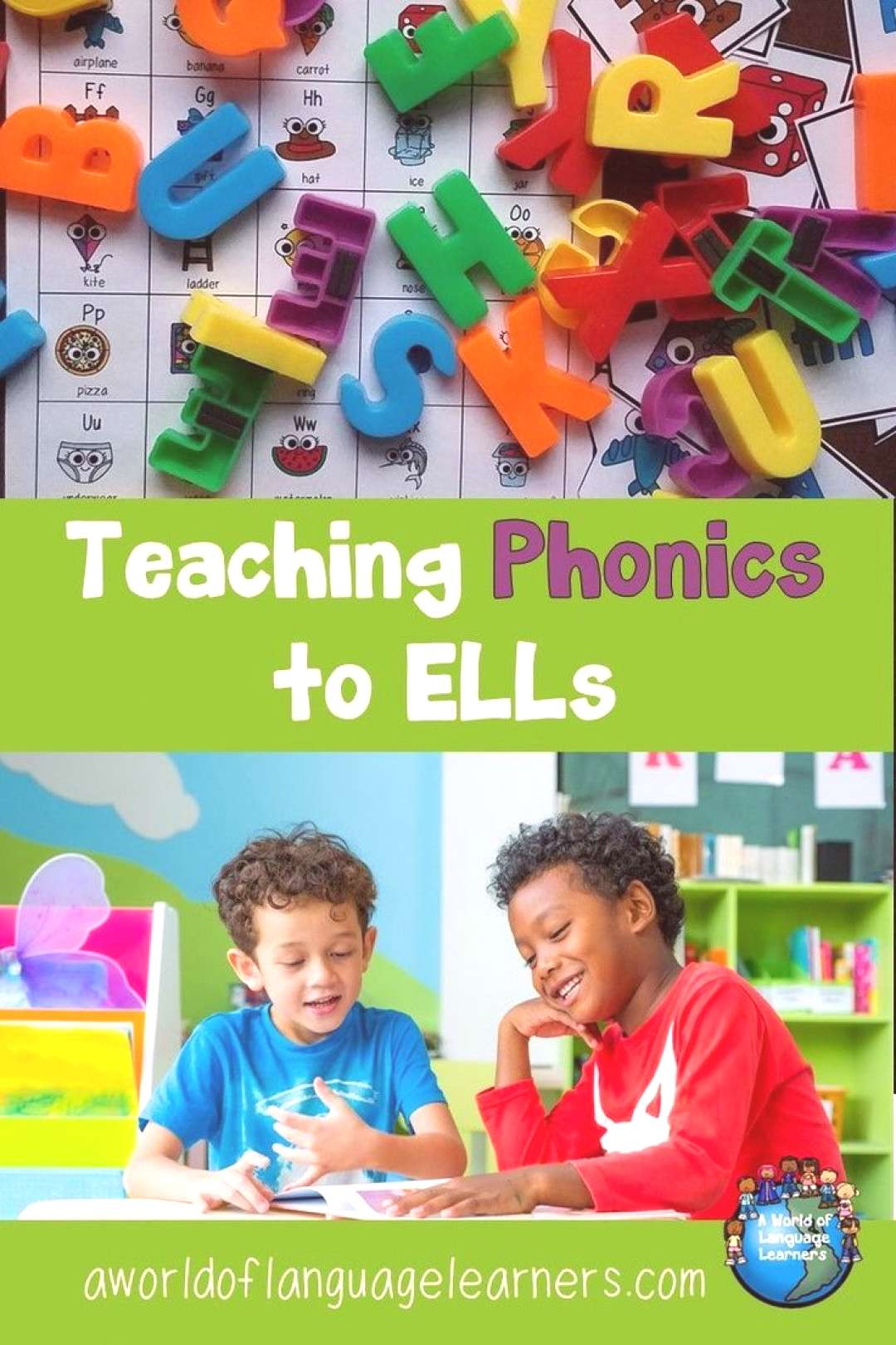 Phonics for ELLs - A World of Language Learners Phonics are an important part of teaching ELLs how