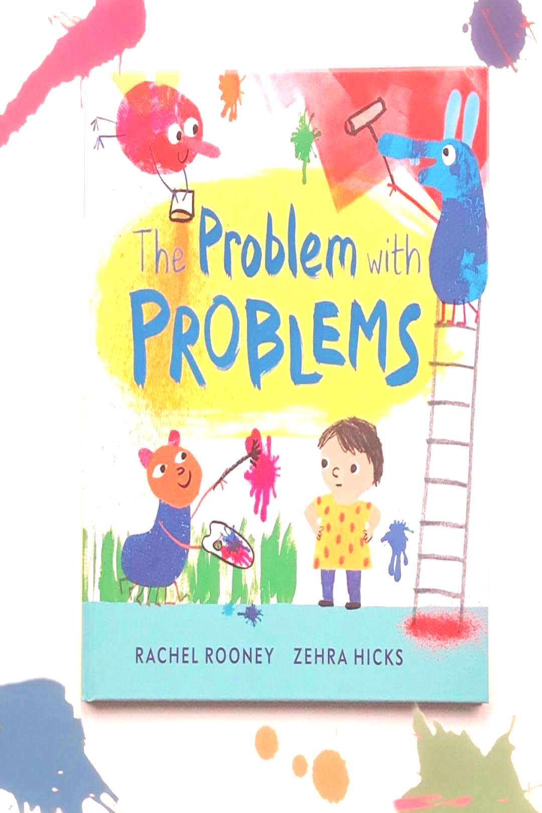 possible text that says The Problem with PROBLEMS ACHEL ROONEY ZEYou can find Phonics and more on o