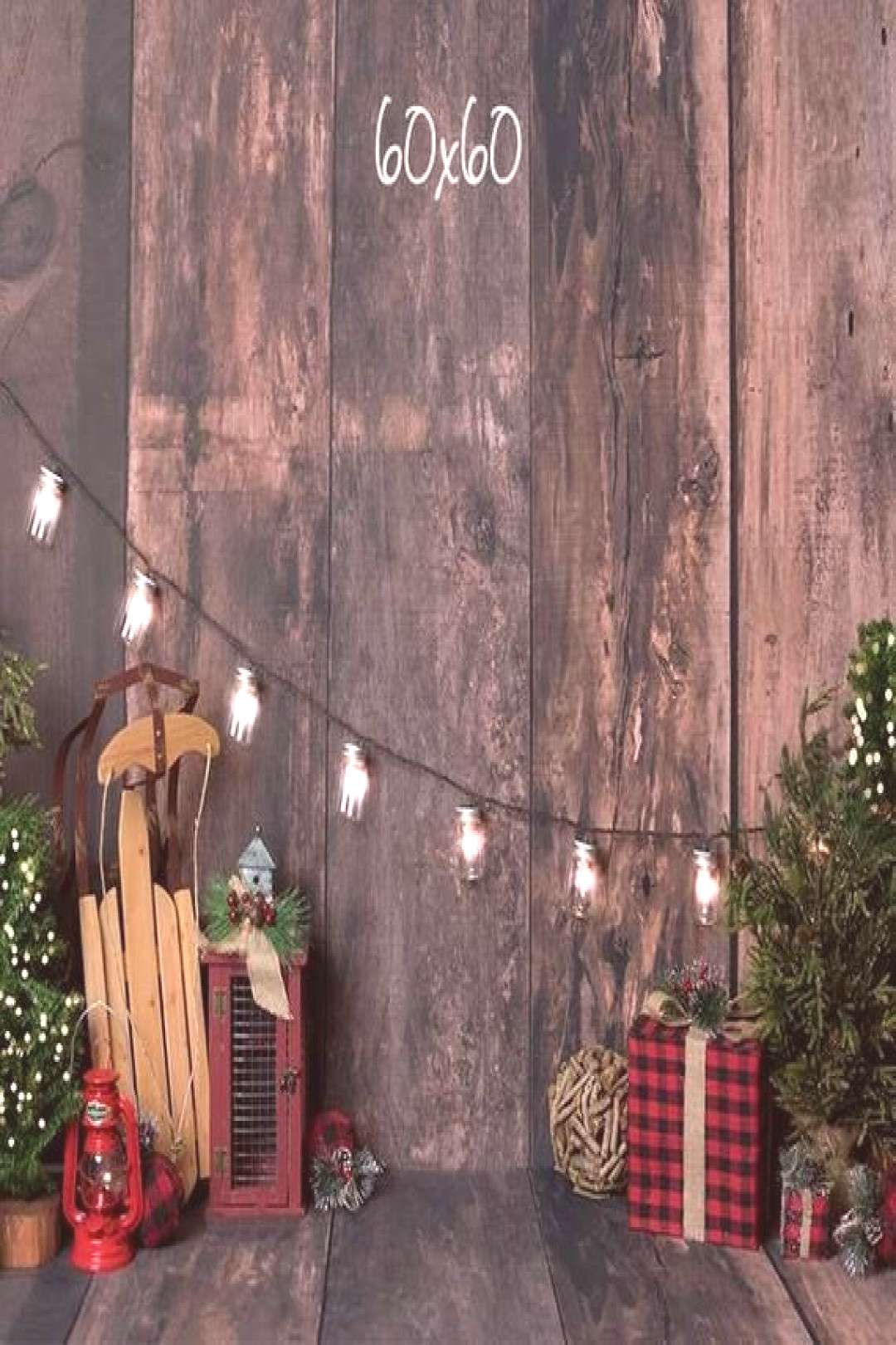 Rustic Glimmer Holiday Photography Backdrop Christmas   Etsy