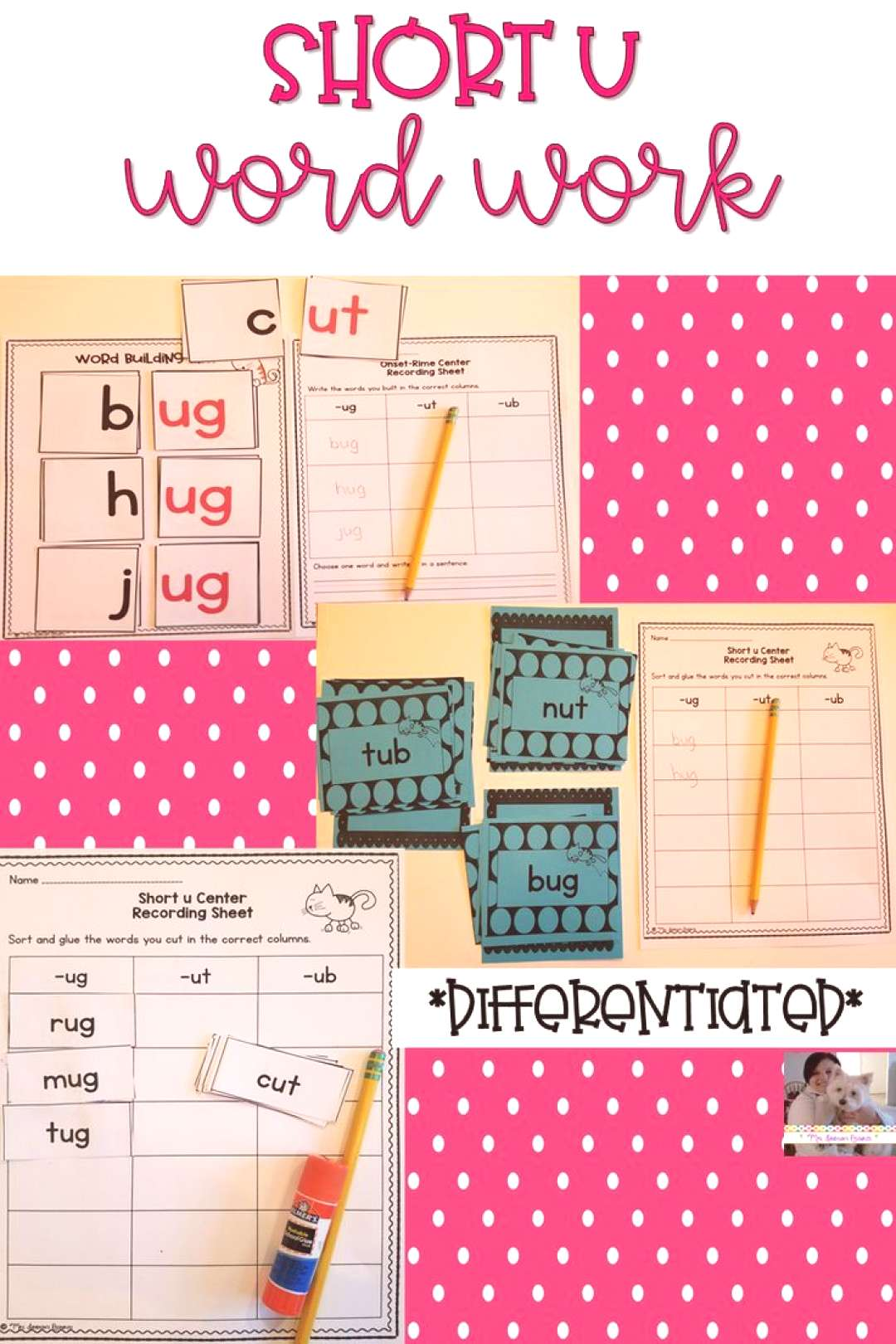 Short u Word Work These hands-on and engaging short u word work activities will help students maste