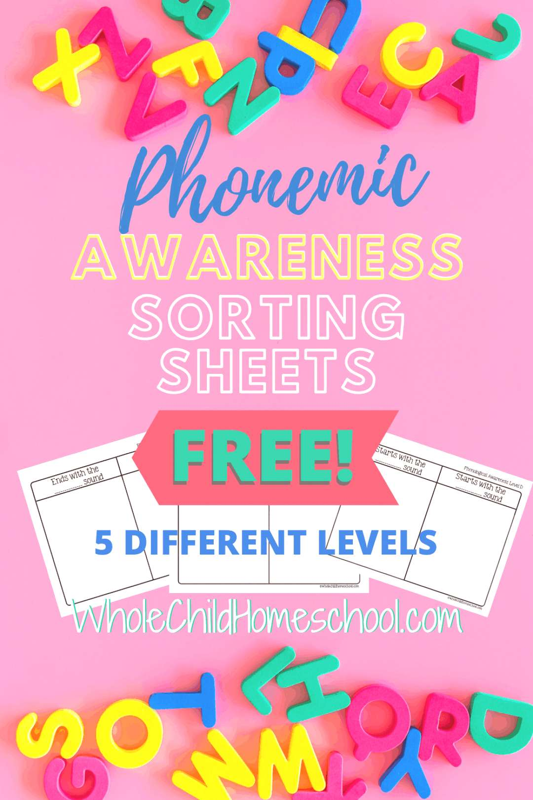 Small Object Sound Sorting Sheets Did you know that phonemic awareness (the understanding that word