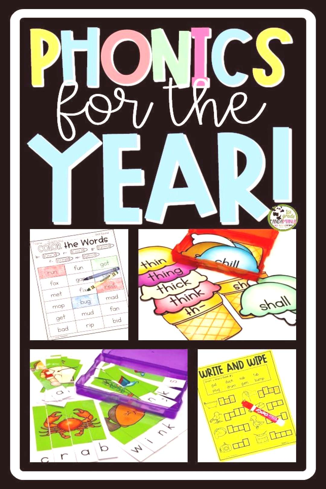 Targeted Phonics Must Dos and May Dos for the Year! -