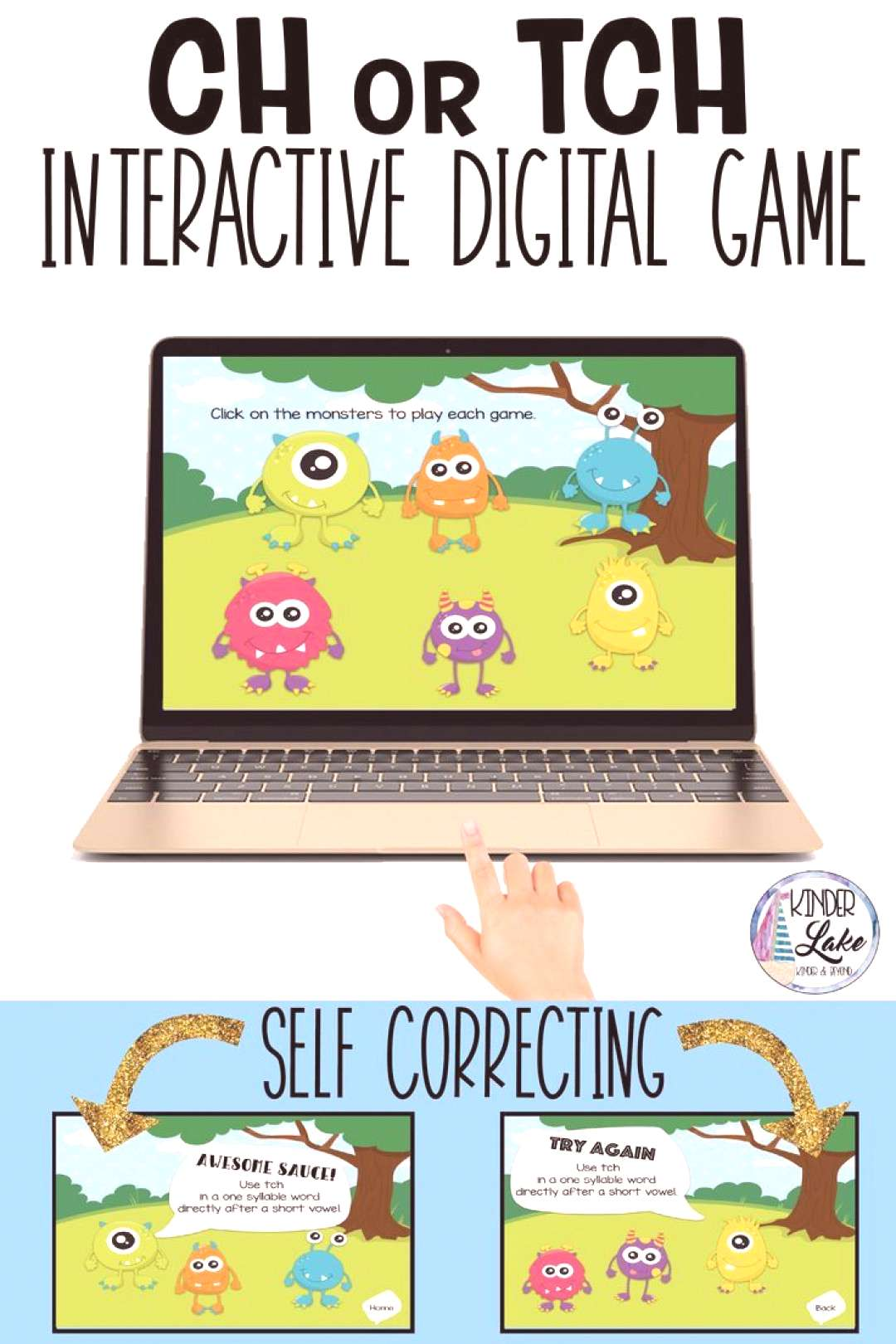 tch Phonics Rule Digital Game Practice when to use ch or tech with this phonics game. There is no p