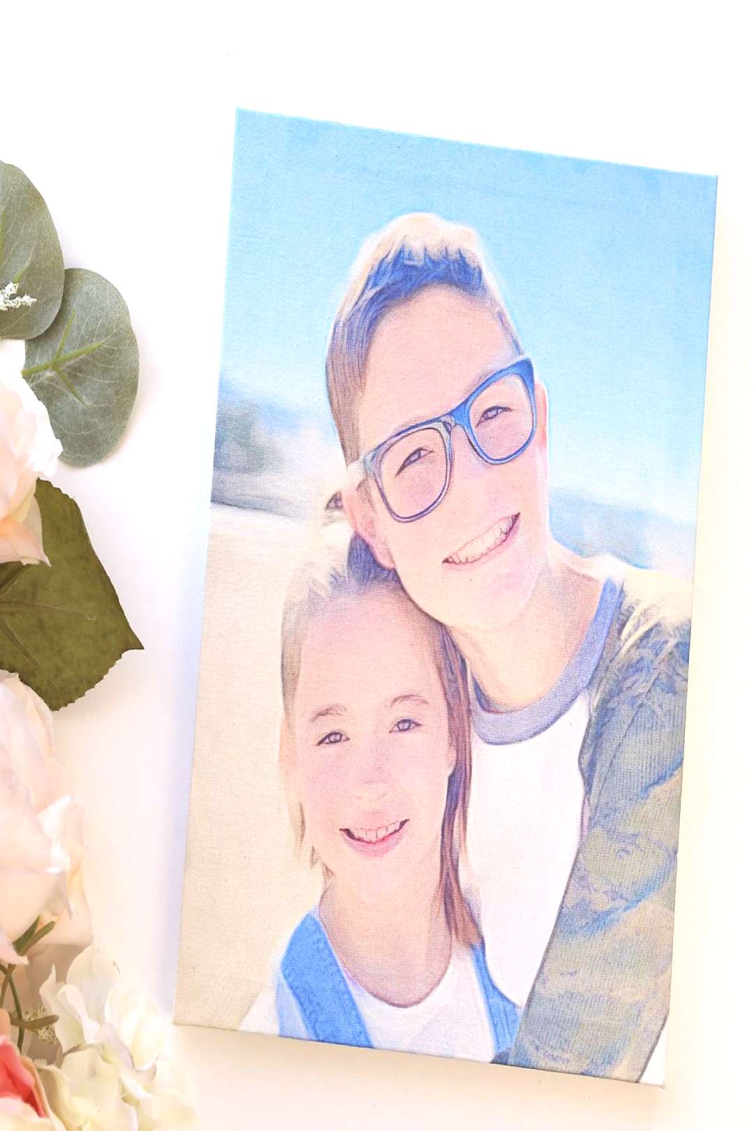 The Easy and FOOLPROOF way to transfer a photo to canvas
