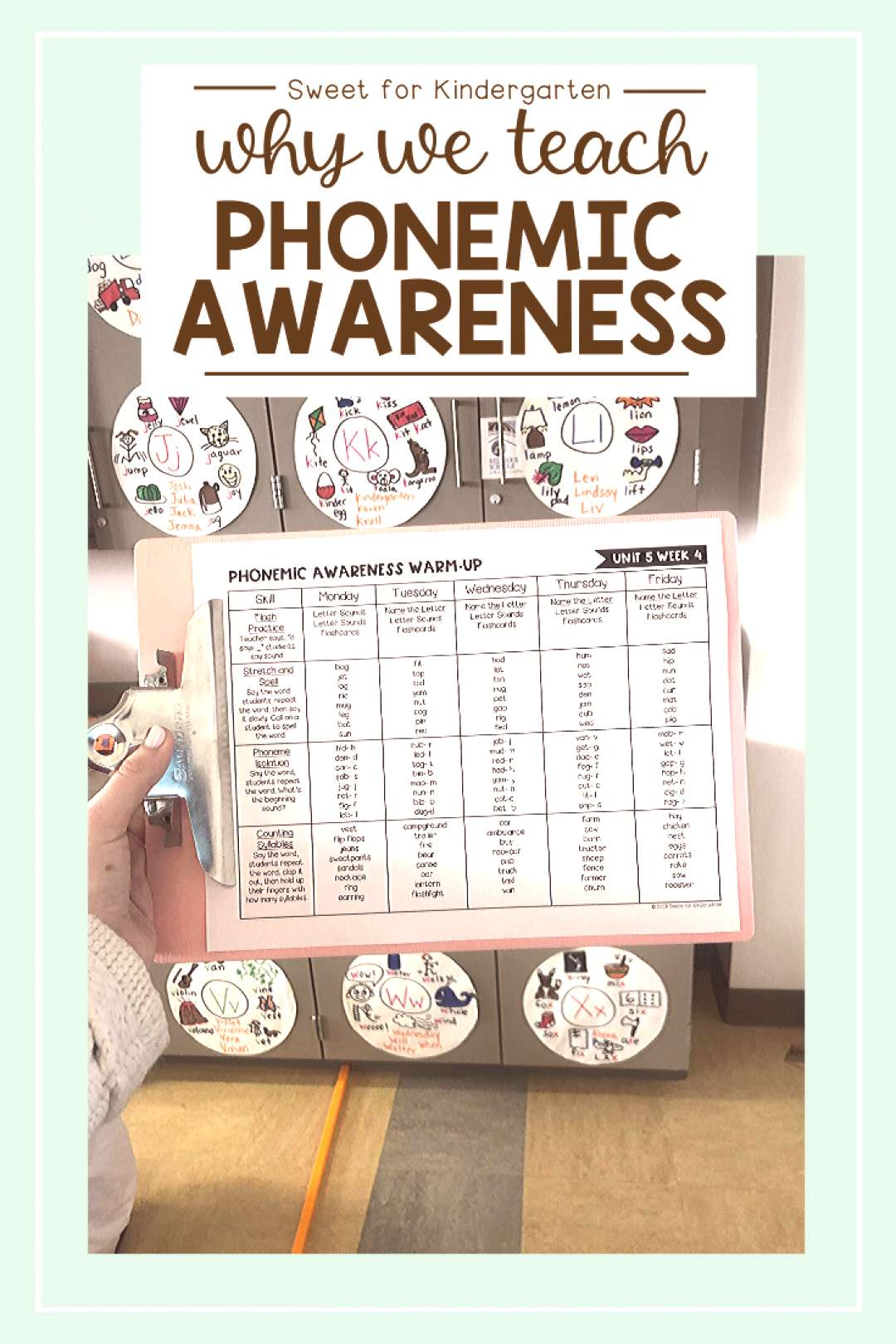 The Importance of Phonemic Awareness   Sweet for Kindergarten Learn about the importance of phonemi